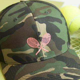 Camo Racquet Hat